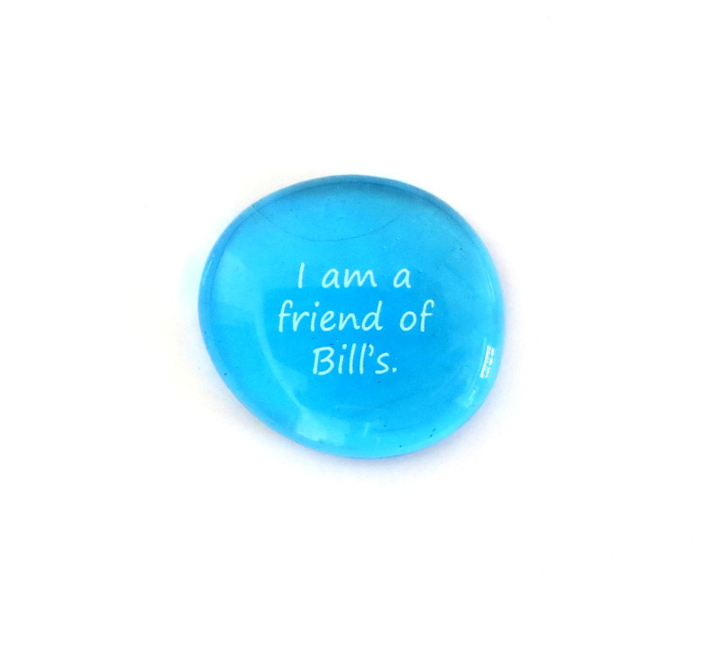 I am a friend of... Glass Stone From Lifeforce Glass