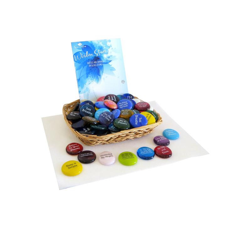 Wisdom Stone Assortment from Lifeforce Glass