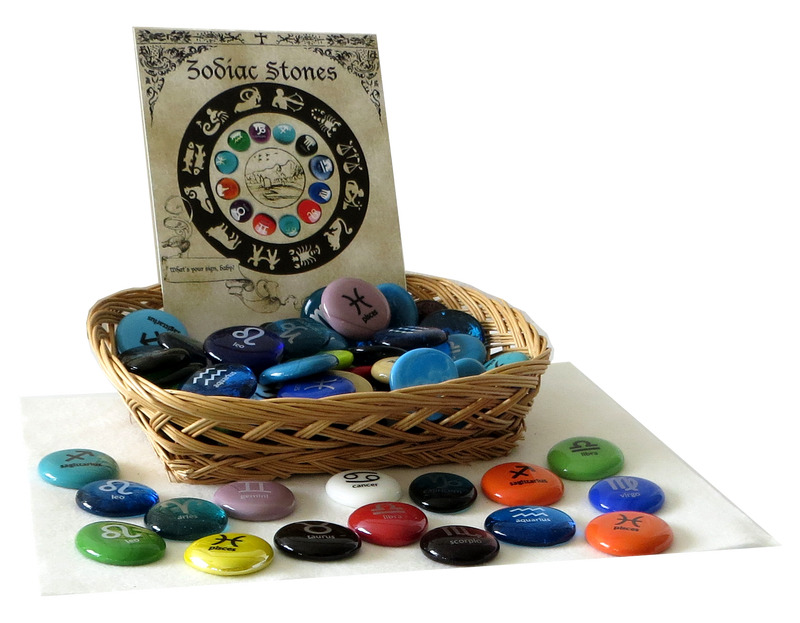 Zodiac Assortment from Lifeforce Glass