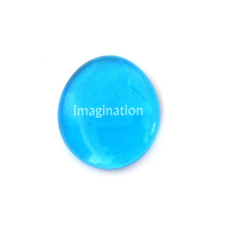 12 Powers- Imagination... Glass Stone from Lifeforce Glass