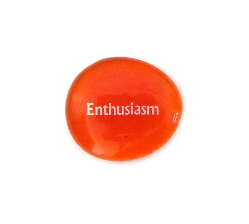 12 Powers- Enthusiasm... Glass Stone from Lifeforce Glass