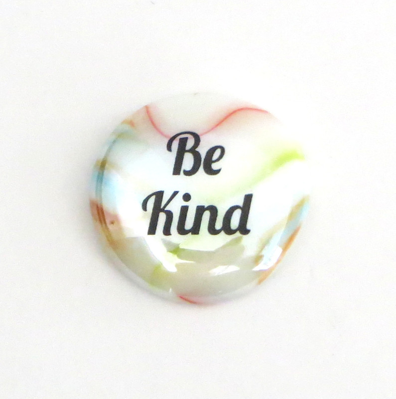 Festival Glass, Be Kind, From Lifeforce Glass, Inc.