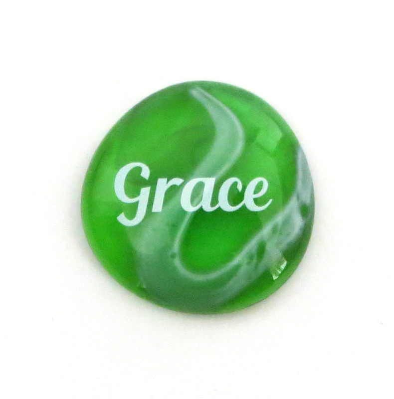 Festival Glass Grace Stone from Lifeforce Glass, Inc