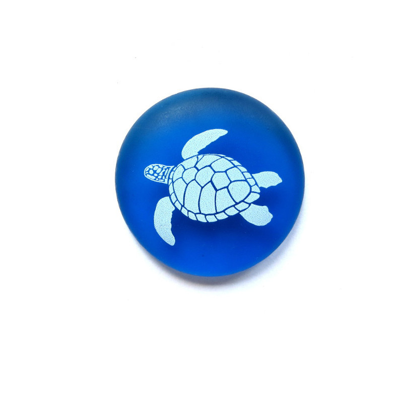 Honu Mermaid Message from Lifeforce Glass, Inc.