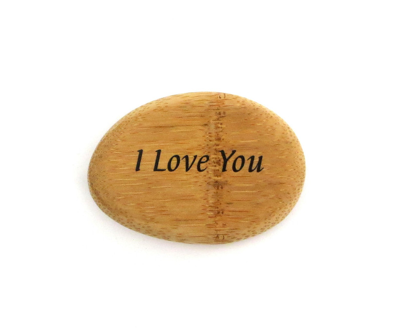 I Love You - Bamboo... From Lifeforce Glass