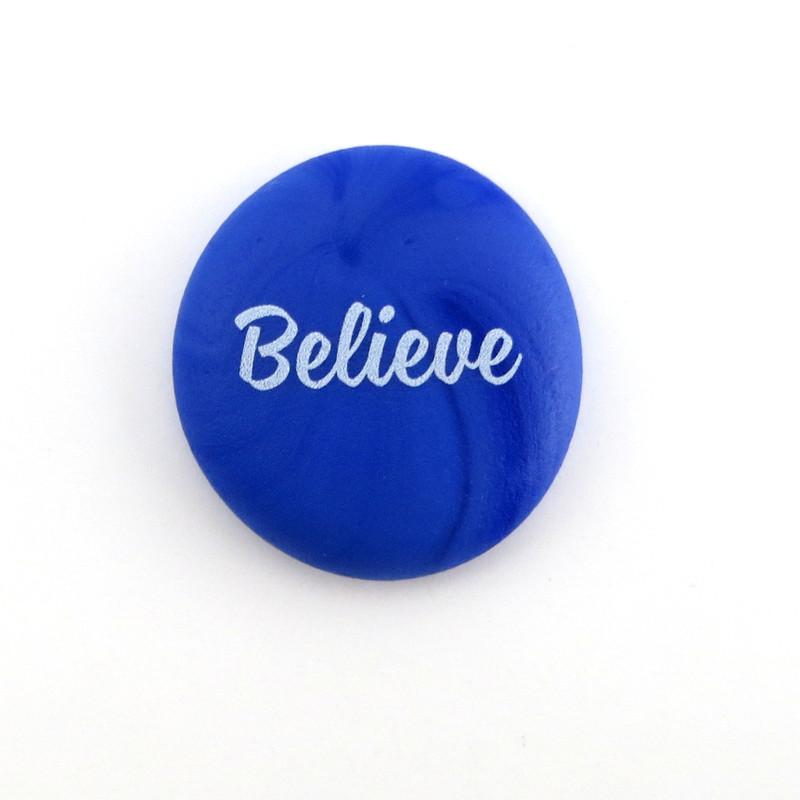 Sea Stone, Believe, from Lifeforce Glass, Inc.
