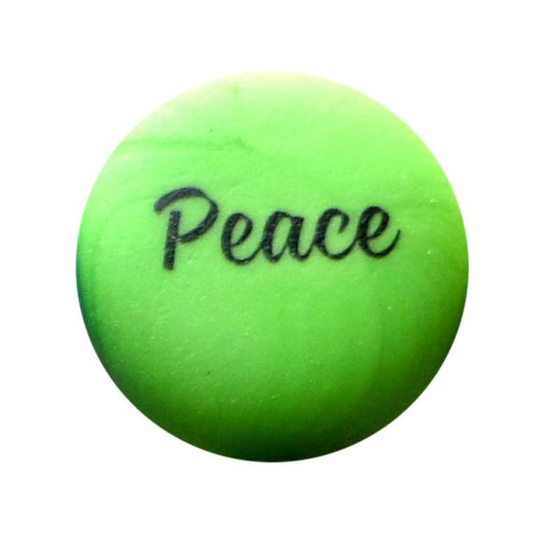 Peace Sea Stone from Lifeforce Glass, Inc.
