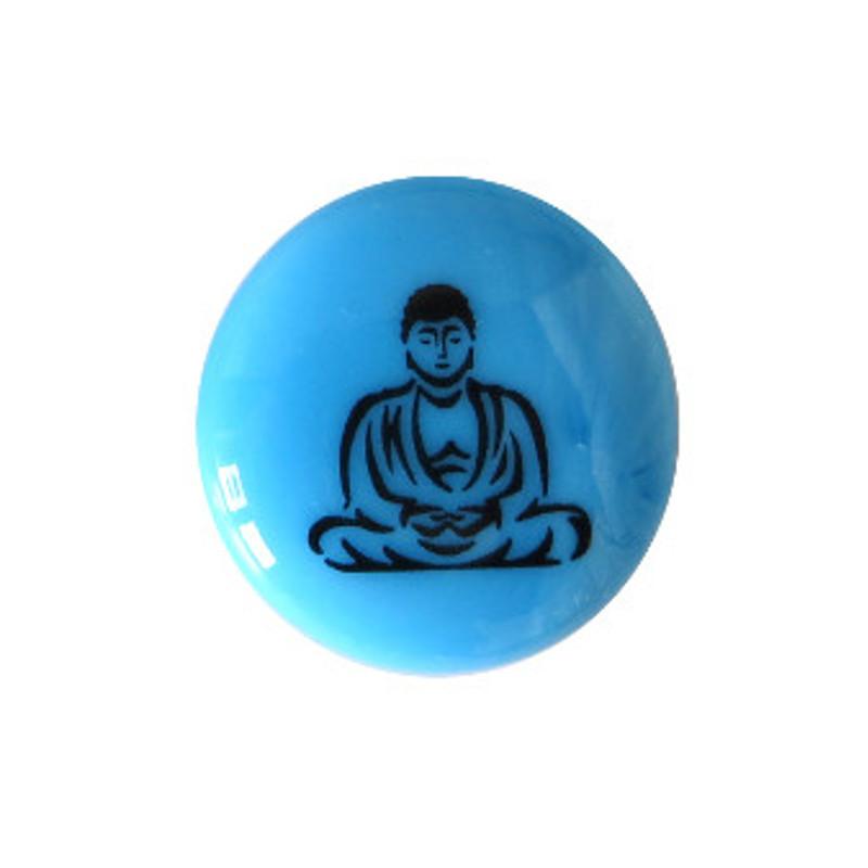 Buddha... Glass Stone from Lifeforce Glass