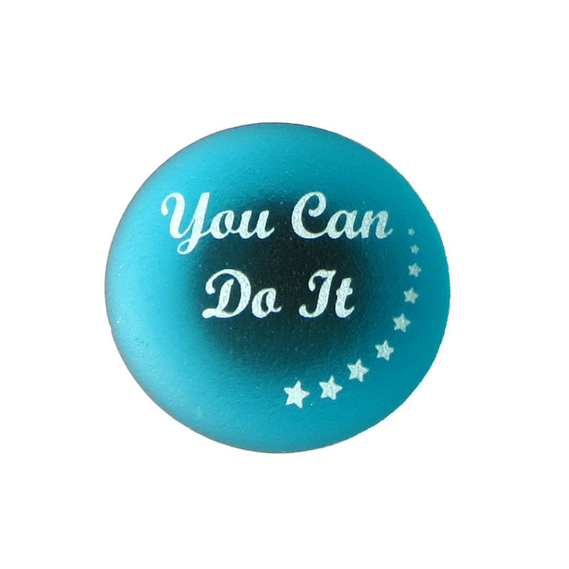 Inspiration Magnet, You Can Do It. By Lifeforce Glass, Inc.