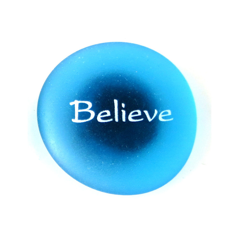 The Mermaid's Message Magnet, Believe From Lifeforce Glass