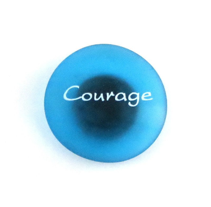 The Mermaid's Message Magnet, Courage From Lifeforce Glass