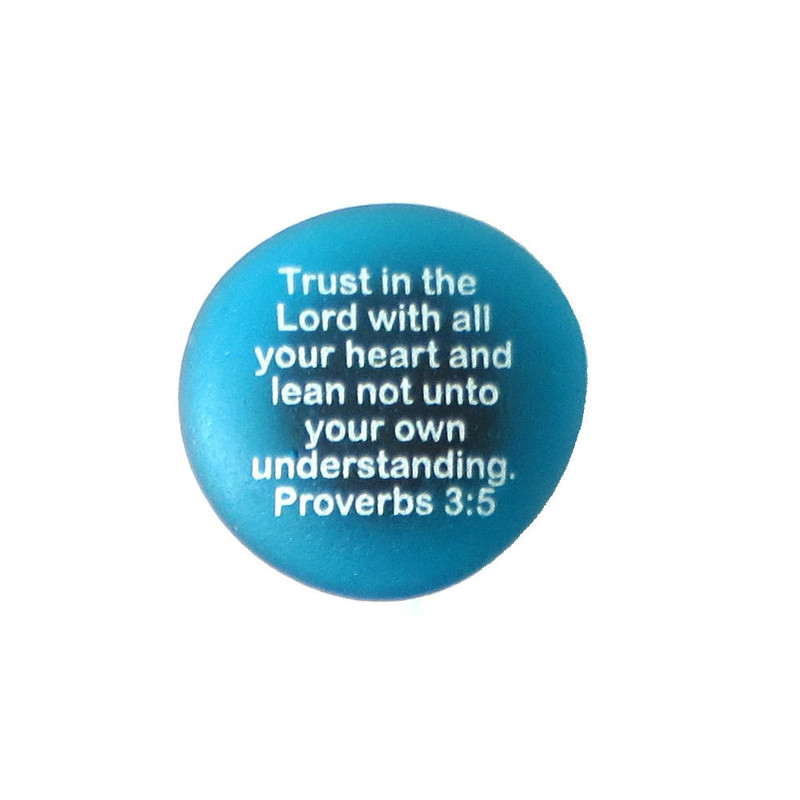 Trust in the Lord with all your heart from Lifeforce Glass.