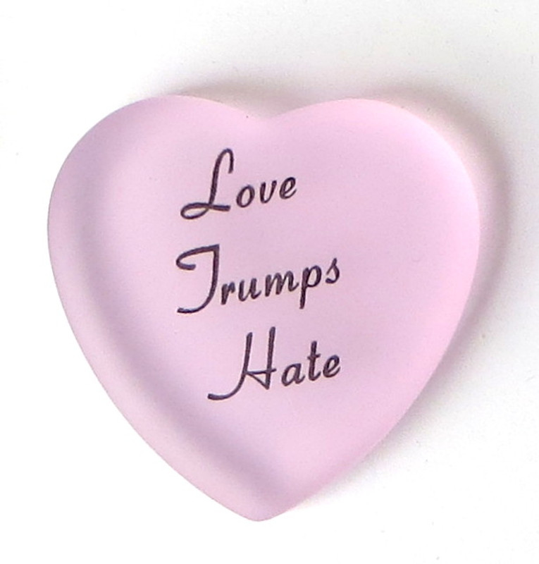 Love Trumps Hate from Lifeforce Glass, Inc.