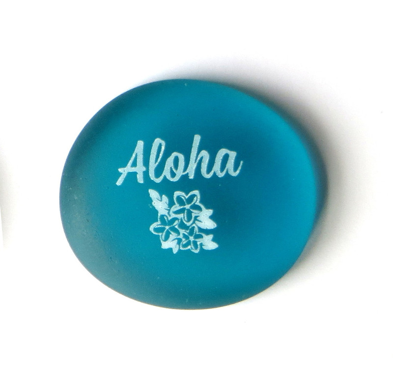 Sea Stone Aloha from Lifeforce Glass, Inc.