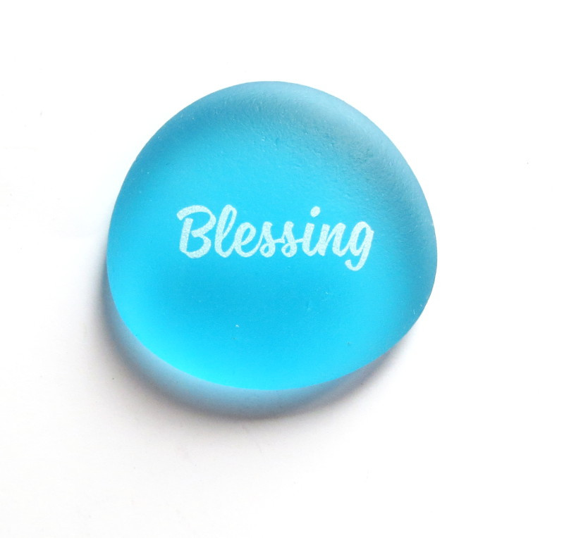 Sea Stone Blessing from Lifeforce Glass, Inc.