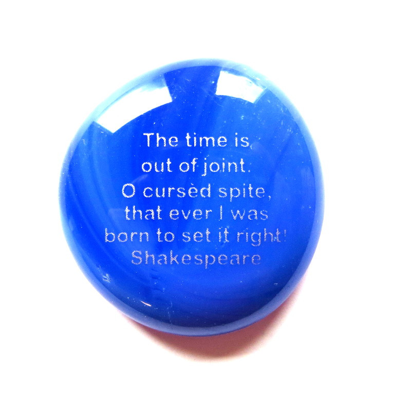 Shakespeare Stone- The time is out of joint...