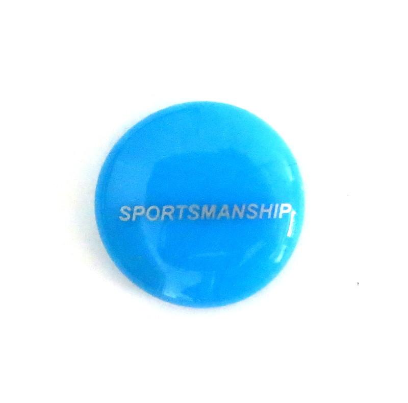 Sportsmanship... Glass Stone from Lifeforce Glass