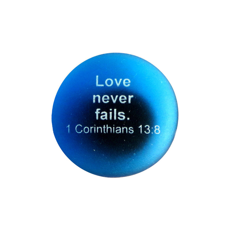 Love never fails... From Lifeforce Glass