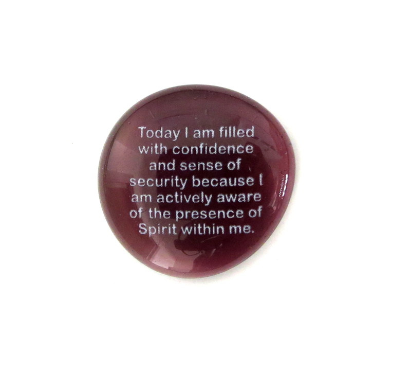 Ernest Holmes- Today I am filled with confidence and sense of security because I am actively aware of the presence of Spirit within me.
