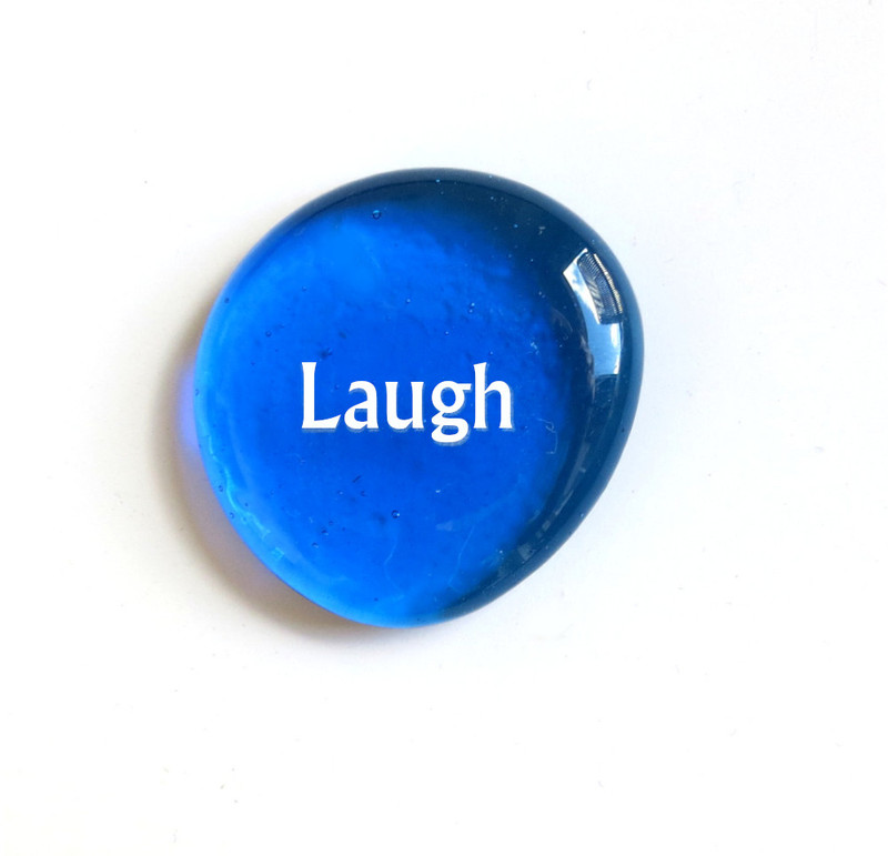 Laugh, Albertus Font, Aqua, Original Printing Method