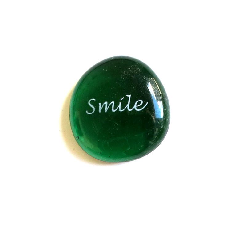 Smile, Emerald, Mixed Fonts, Original Printing Method