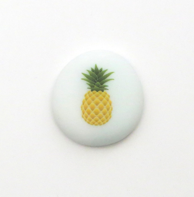 Pineapple with color Lifeforce Glass, Inc.
