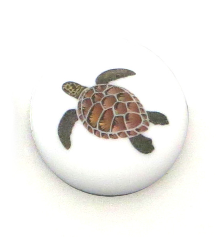 Brown Honu Lifeforce Glass