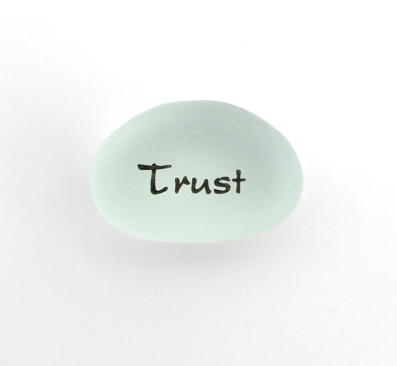 Trust Peace Pebbles
