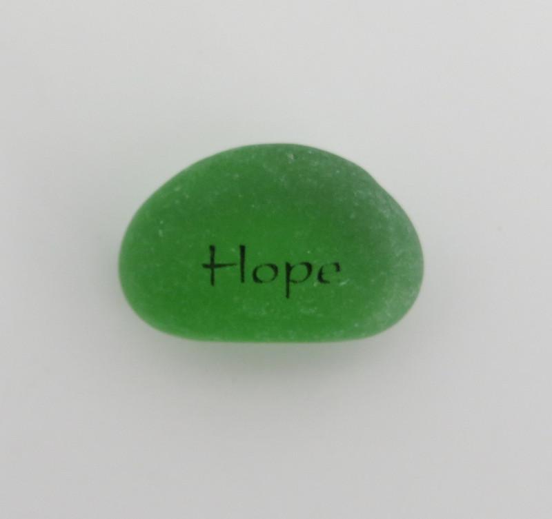 Peace Pebbles, Hope