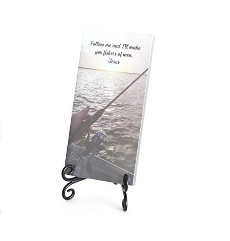 Inspirational Glass Plaque- Fishers of Men