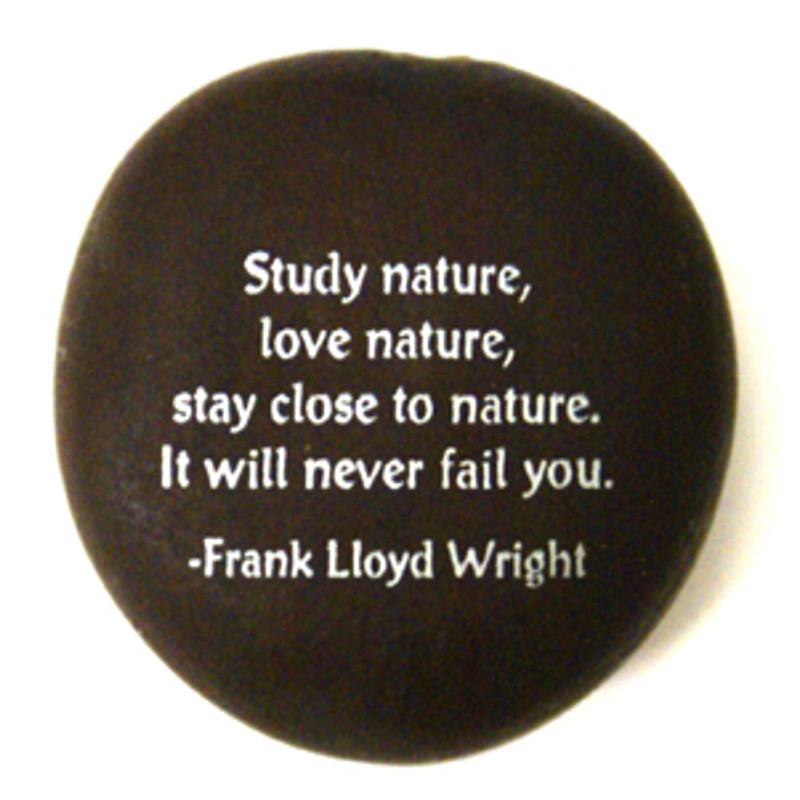 Frank Lloyd Wright Seabean from Lifeforce Glass