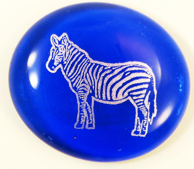 Zebra Glass Stone