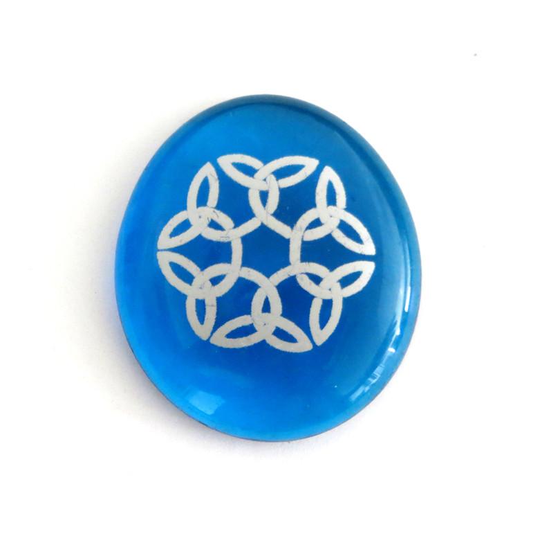 Celtic Knot, Blue