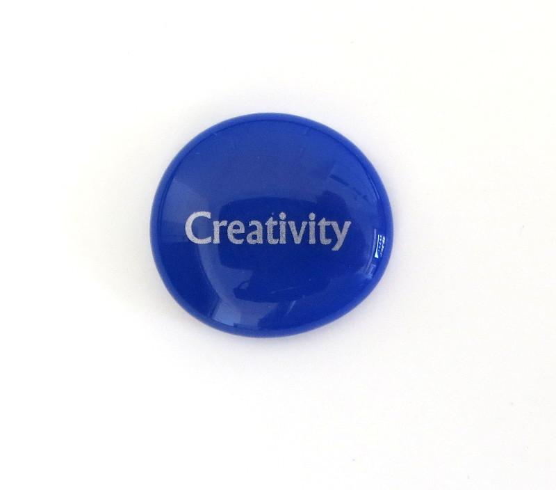 Creativity Glass Stone from Lifeforce Glass