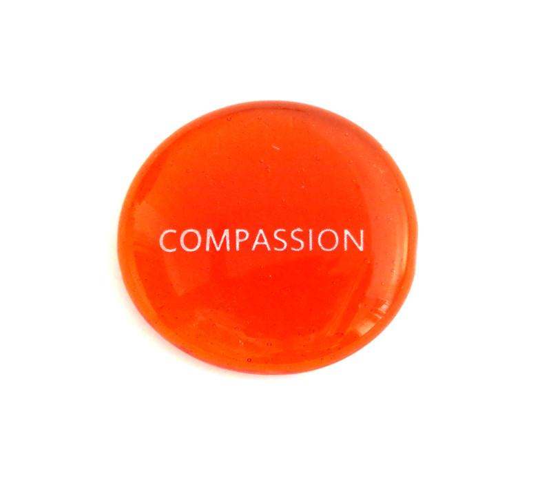Compassion, Translucent Orange