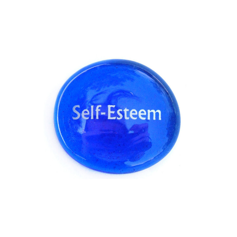 Self-Esteem... Glass Stone from Lifeforce Glass