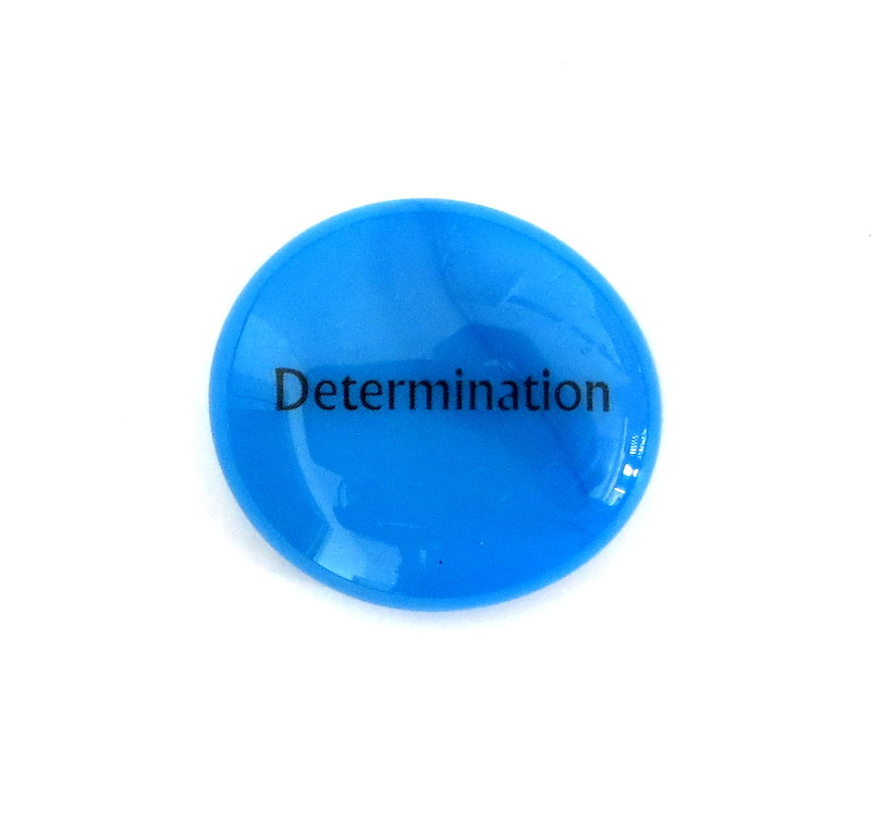 Determination... Glass Stone From Lifeforce Glass