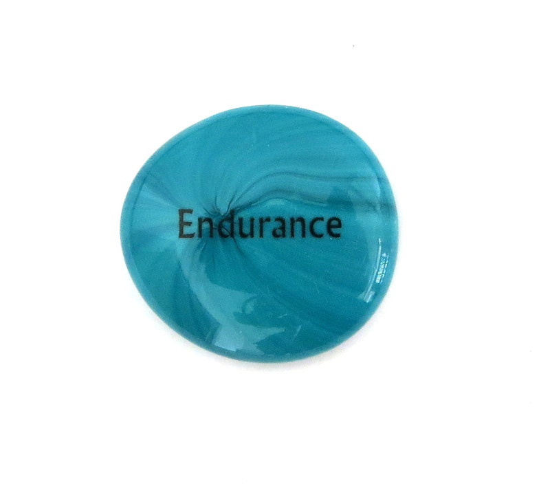 Endurance... Glass Stone From Lifeforce Glass
