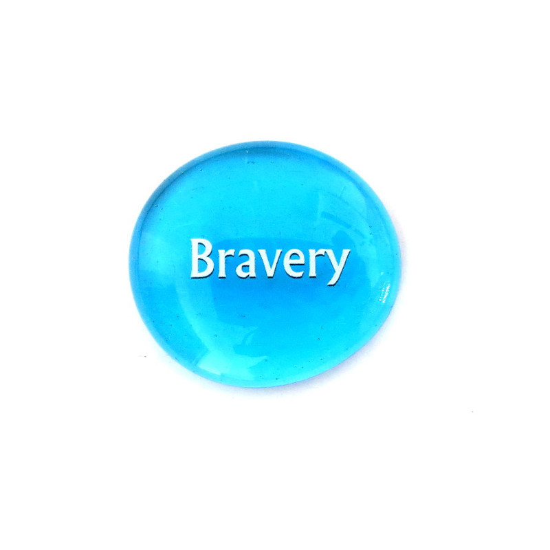Bravery... Glass Stone from Lifeforce Glass