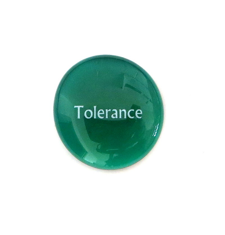 Tolerance... Glass Stone From Lifeforce Glass