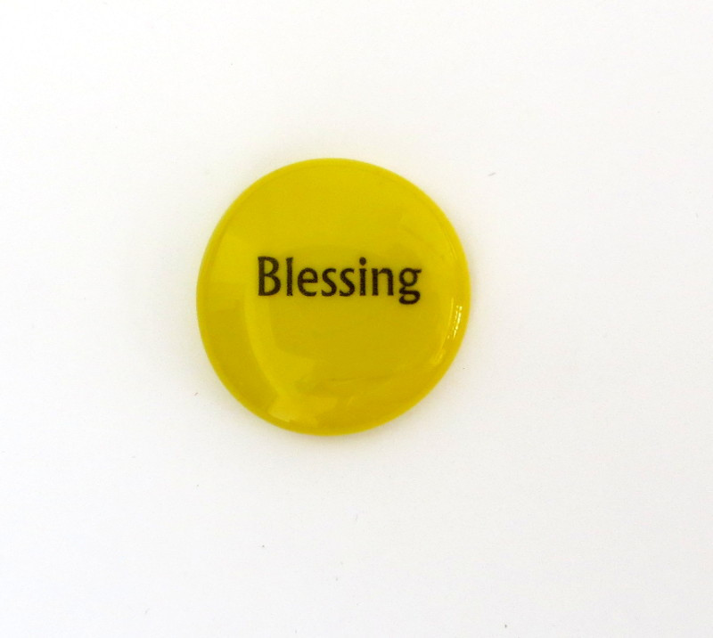 Blessing Glass Stone from Lifeforce Glass