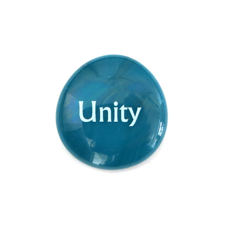Unity... Glass Stone from Lifeforce Glass
