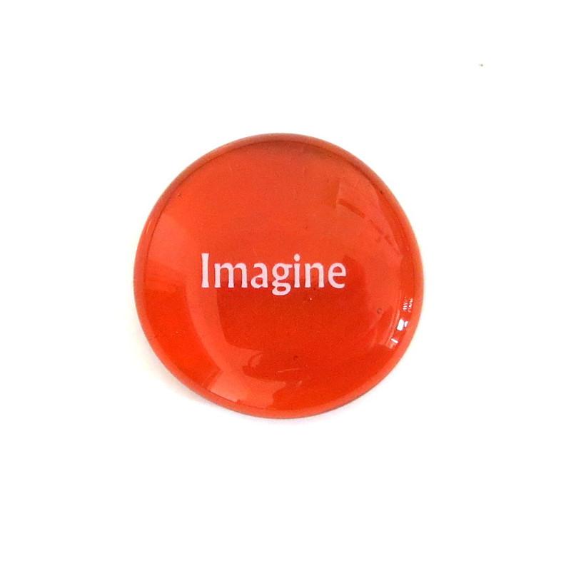 Imagine... Glass Stone from Lifeforce Glass