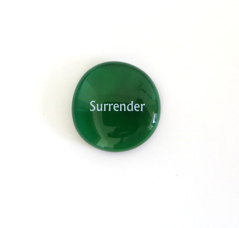 Surrender Glass Stone from Lifeforce Glass