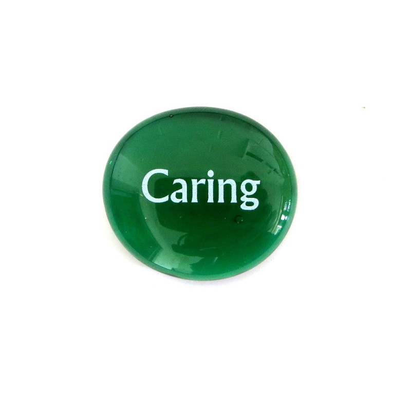 Caring... Glass Stone from Lifeforce Glass