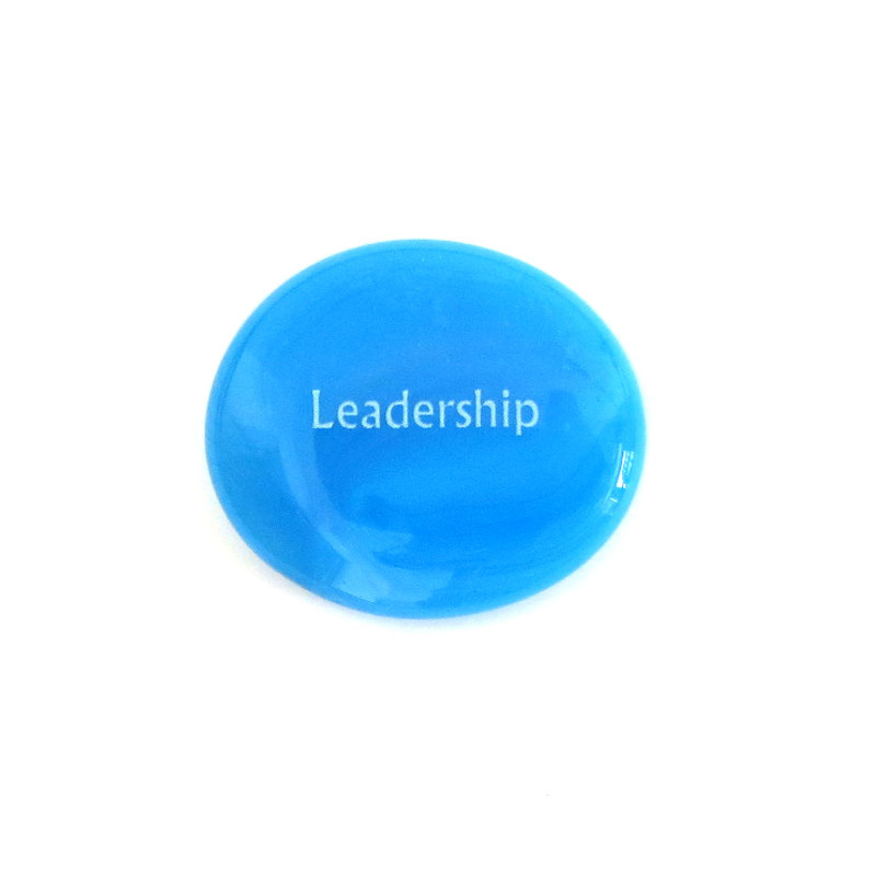 Leadership... Glass Stone from Lifeforce Glass