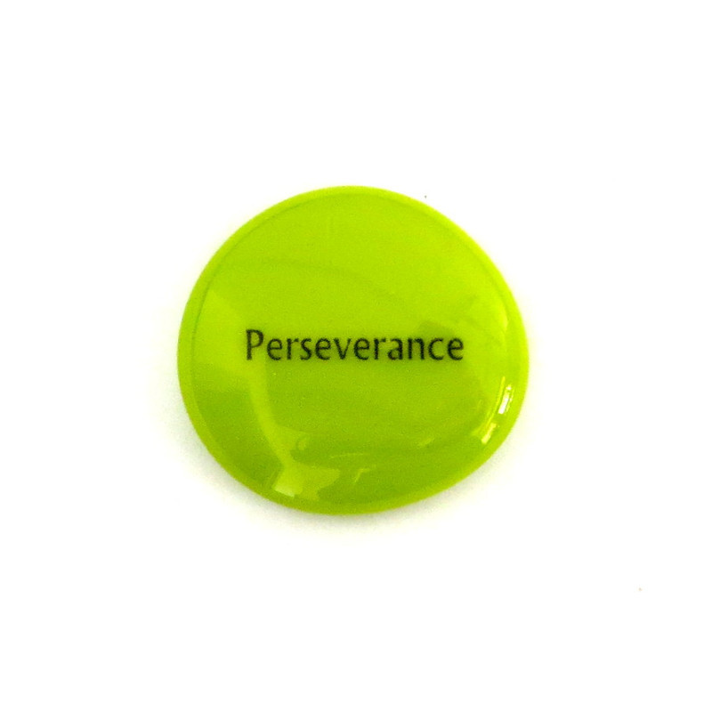 Perseverance... Glass Stone from Lifeforce Glass