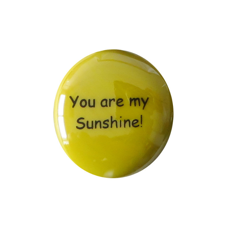 You are my sunshine... Glass Stone From Lifeforce Glass