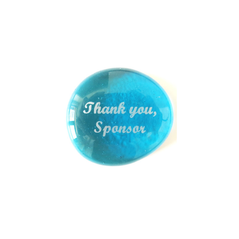 Thank you, Sponsor... Glass Stone From Lifeforce Glass
