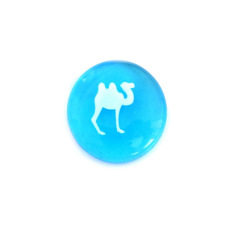 Camel... Glass Stone from Lifeforce Glass